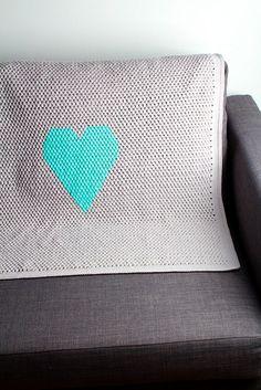 Heart Baby Blanket Crochet – CrochetBit