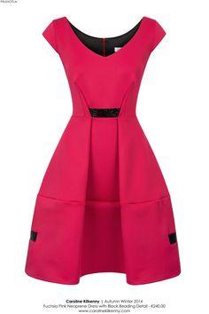Caroline Kilkenny pink dress