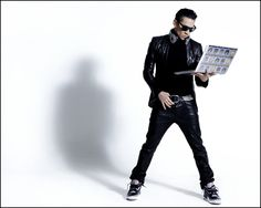 Taboo of The Black Eyed Peas, this guy knows how to rock some fashion sense.