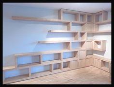 Półki na książki i biblioteczki Cellaio - zdjęcie w galerii pomysłów Styl