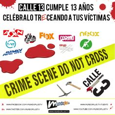 13 años de Calle 13