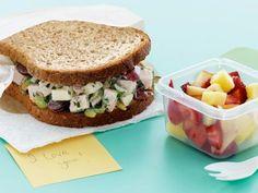 Crunchy Turkey Salad Sandwiches