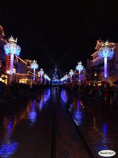 Parc Disneyland Paris : Château de la Belle au bois dormant - Main Street USA