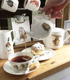 Wrendale Designs began life in 2012 on a kitchen table in Melton Ross, Lincolnshire. Since then the cards have become best sellers, and Wrendale has been awarded five prestigious Henries awards for the designs. Husband and wife team Jack and Hannah (helped or hindered by their little ones, Amelia, Lara and Oliver) ably run Wrendale Designs, with Jack managing the business side of things and Hannah focusing on the beautiful artwork for which she has become well known.