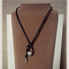 Pandora Leather Necklace How To Wear