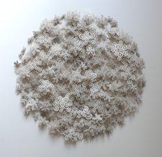 Magic Circle, Rogan Brown paper sculptures
