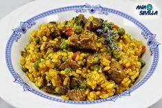 Good Food, Yummy Food, Kitchen Dishes, Rice Recipes, Yummy Recipes, Yummy Drinks, Fried Rice, Risotto, Curry