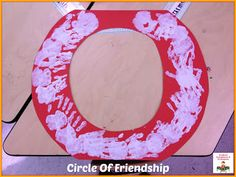 The Circle Of Friendship is perfect for a classroom discussion on friendship and community!