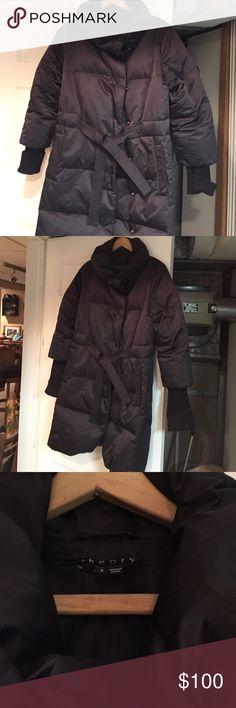 Theory down coat 9/10 very warm Theory Jackets & Coats Puffers