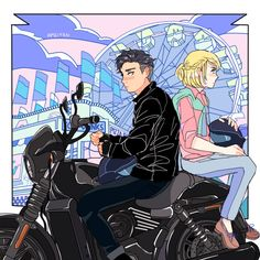 AMEIYAN:    Greaser Otabek x Preppy Yurio AU anyone??