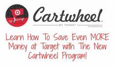 Target Cartwheel Program: How To Save Even MORE Money at Target!