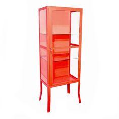 Vermelho -Dimensões: Largura 55 cm | Profundidade 35 cm | Altura 150 cm
