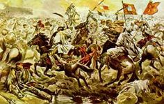 King Sebastian of Portugal rode headfirst into Moorish lines and disappeared. His body was never recovered.