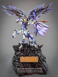 Centaur Wing Zero Custom - Diorama Build     Modeled by Dennis Chou