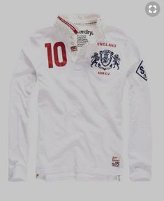 4fd7d6c3 Shop Superdry Mens Valiant Rugby Shirt in Optic White. Buy now with free  delivery from the Official Superdry Store.