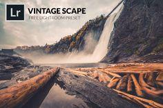 Vintage Scape Free Lightroom Presets by Freepresets.com