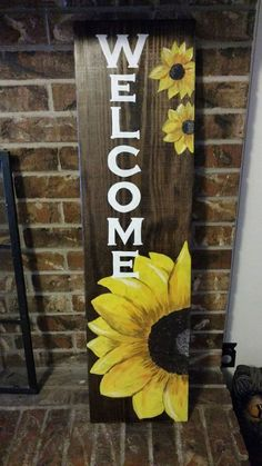 Diy Wood Signs Welcome Etsy 16 Super Ideas Pallet Crafts, Wooden Crafts, Diy Crafts, Wooden Welcome Signs, Diy Wood Signs, Porch Welcome Sign, Diy Projects For Kids, Wood Projects, Kids Diy