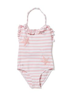 Striped Halter Swimsuit by Sonia Rykiel on sale now on #Gilt.