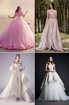 20 Fashion-Forward Wedding Dresses Featuring 3D Effects and Appliqués!