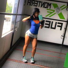 Halloween feels at the gym  @dymatize @fitplan_app #trainwithme