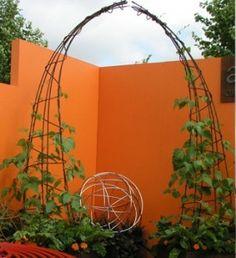 Contemporary Garden Arch greenstuff Pinterest Garden arches