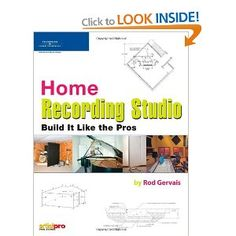Home Recording Studio: Build it Like the Pros: Amazon.ca: Rod Gervais: Books