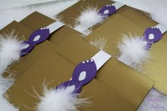 Masquerade Wedding Invitation by SDezigns