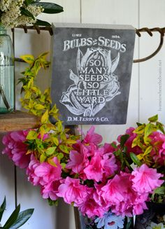 In the Potting Shed: So Many Seeds, So Little Yard | homeiswheretheboatis.net #garden #spring