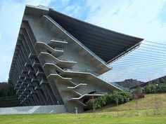 "Eduardo Souto de Moura (b. 1952), Estádio Municipal, Braga, Portugal, 2003 (via nytimes)  ""Eduardo Souto de Moura, a Portuguese  architect who has worked mainly in his native country, designing a major  soccer stadium and numerous private houses, has been awarded the 2011  Pritzker Prize, architecture's highest honor. Mr. Souto de Moura, who lives and works in the northern Portuguese  city of Porto, is deeply respected in the field but is not as well known  internationally as many previous"