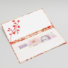 2. Dárkový obal nejen na peníze - CHIYOGAMI Chcete svým blízkým darovat peníze, darovací poukaz, vstupenku na koncert....... prostě cokoliv, co lze vložit do obálky a obálka Vám přitom připádá fádní a nezajímavá? Pak doporučujeme využít naše luxusní dárkové pouzdro Chiyogami Pouzdro je vyrobeno z tvrdé knihařské lepenky a následně potaženo netradičním luxusním ...