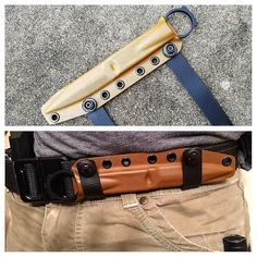 Benchmade SOCP sheaths. This sheath is the best way to carry this knife. Very low profile and comfortable.