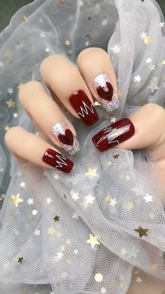 art videos valentines day 14 Sweet Valentine's Day Nail Design for You 2020 Valentine's Day Nail Designs, Nail Art Designs Videos, Nail Art Videos, Makeup Videos, Trendy Nail Art, Stylish Nails, Diy Nails, Cute Nails, Acrylic Nails