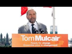 Tom Mulcair launches NDP election campaign August 2 at the Museum of History in Gatineau, Quebec.