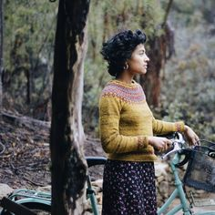 Ravelry: Project Gallery for Treysta pattern by Jennifer Steingass Big People, Mori Fashion, Vintage Fairies, Forest Girl, The Secret History, Bike Style, Keep Warm, Pretty Cool, Ravelry
