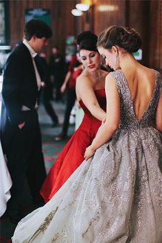 Fashion Inspiration | A Glittering Ball