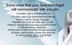 How your guardian angels communicate with you