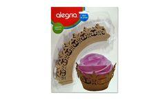 Envoltorio para Cupcakes Filigrana Dorado (12 pzas) from Super Materias Primas