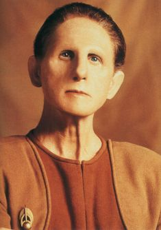 Odo. The Liam Neeson of the Star Trek universe