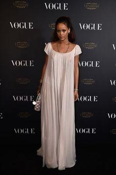 Rihanna à la Vogue Party lors de la fashion week http://www.fashions-addict.com/Rihanna-a-la-Vogue-Party-lors-de-la-fashion-week_408___16243.html #rihanna #people #look #style #fashion #mode #dior #robe #dress