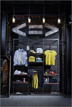Minimus footwear and apparel are available at the New Balance Boston store. New Balance Boston, Copley Square.