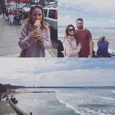 Afternoon drive to Point Lonsdale for yummy food and wine at @noblerotwine (and a cheeky ice cream!) #pointlonsdale #bellarinepeninsula #victoria #travel #coast #australia #icecream by thefreeyogi http://ift.tt/1JO3Y6G