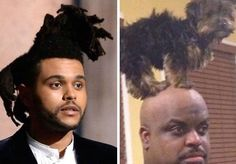 Who-Wore-It-Better-The-Weeknd-Ceelo pictures Kim Kardashian Funny Memes funny Donald Trump Dank