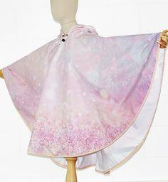 Glamourous Pink Glittery Waterproof Poncho Cape - PonchU Waterproof Poncho, Rain Poncho, Cape, Ballet Skirt, Glamour, Skirts, Pink, Collection, Fashion