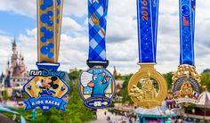 Découvrez les médailles exclusives du premier Week-end Semi-Marathon Disneyland®…