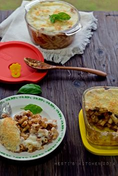 HESTI'S   KITCHEN : yummy for your tummy: Macaroni Panggang dengan LOCK&LOCK OVEN GLASS STEA...