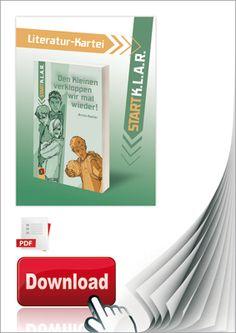 Start-K.L.A.R.-Literatur-Kartei PDF - Den Kleinen verkloppen wir mal wieder! ++ #Unterrichtsmaterial für Lehrer an weiterführenden Schulen, Fach: Deutsch, Förderunterricht, Klasse 4-6 ++ Aufgaben zur Überprüfung des Textverständnisses + Weiterführende Aufgaben und Aktivitäten + Schreibtraining + Themen der Literatur-Kartei: • Sich wehren bei Bedrohung • Bullying • Klassengemeinschaft #Leseförderung