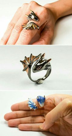 gift ideas 79 Dragon-Inspired Gift Ideas For The Mothers And Fathers Of Dragons Drachen-inspirierte Geschenkideen fr die Mtter und Vter der Cute Jewelry, Jewelry Accessories, Jewelry Trends, Girls Jewelry, Jewelry Gifts, Jewelry Necklaces, Black Jewelry, Jewelry Stand, Stylish Jewelry