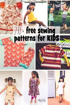 Sewing Patterns for Kids - Free for Summer - Life Sew Savory