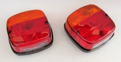 Tail Stop Flasher Lamp Light Tractor Set of Two Lamps LH RH with Bulb | eBay