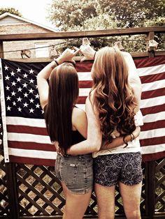 Chi Omega loves America
